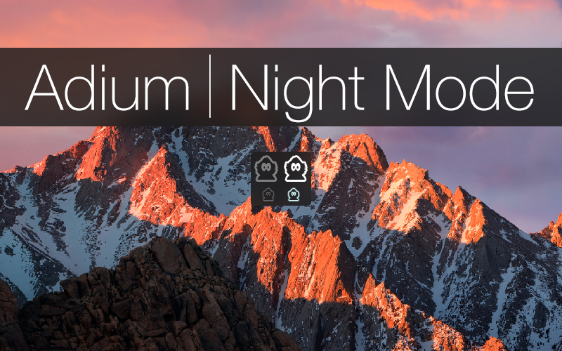 Adium Night Mode Theme