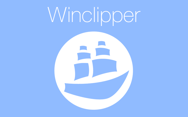Winclipper, a better clipboard manager for Windows
